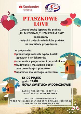 PTASZKOWE LOVE