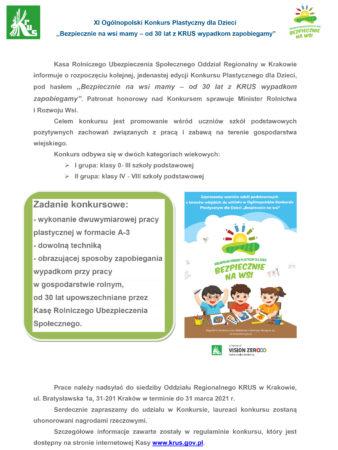 XI Ogólnopolski Konkurs Plastyczny dla Dzieci