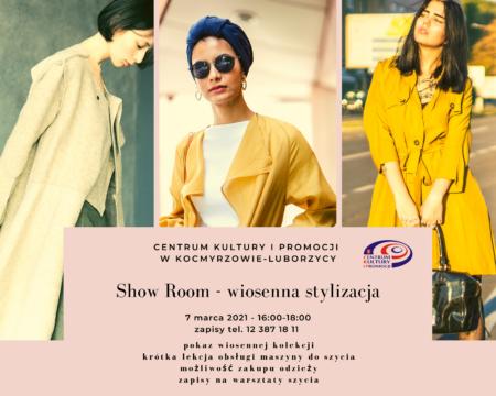 Show Room – wiosenna stylizacja