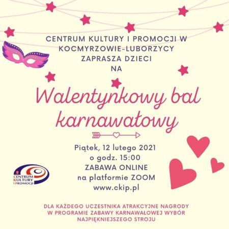 Walentynkowy bal karnawałowy 2021