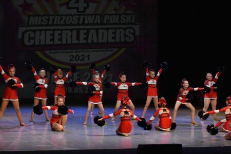 Mistrzostwa Polski Cheerleaders wKielcach