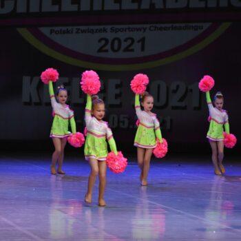 Mistrzostwa Polski Cheerleaders w Kielcach