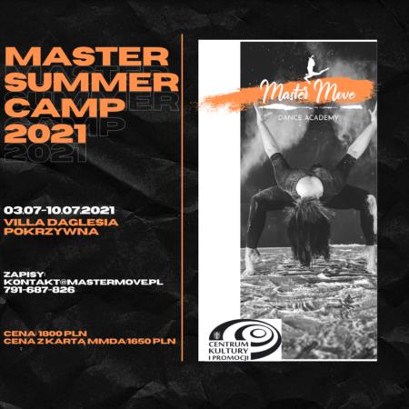 MASTER SUMMER CAMP 2021