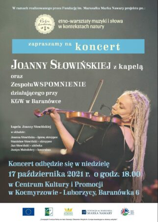 Koncert Joanny Słowińskiej